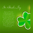 Saint Patrick`s day background vector illustration - Stock Vector