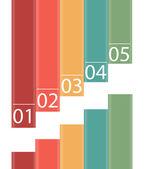 Infografica progetta elementi illustrazione vettoriale — Vettoriale Stock
