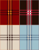 Plaid texture background vector illustration — Stock Vector