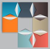 Ilustração do vetor de elementos de design de infográficos. — Vetorial Stock