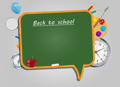Back to School vector Background — Vetorial Stock