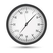 Ilustração do vetor de relógio de prata — Vetorial Stock