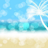 Summer holidays vector background. — Stock Vector