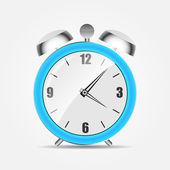 Clock alarm icon vector illustration — Stock Vector
