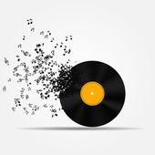 Music icon vector illustration — Stock Vector