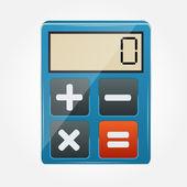 Calculator icon vector illustration — Stock Vector