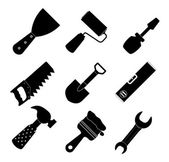 Different tools icon vector illustration set1 — Vetorial Stock