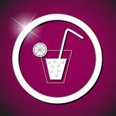 Drink icon vector illustration — Stock Vector