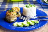 Fish rolls — Stock Photo