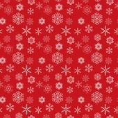 Snowflakes seamless pattern vector illustration — Stock Vector
