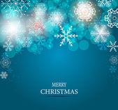 圣诞雪花背景矢量图 — 图库矢量图片