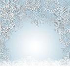 Boże narodzenie śniegu tło wektor ilustracja — Wektor stockowy