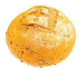 El país fresco pan aisladas sobre fondo blanco — Foto de Stock