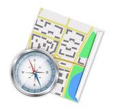 Navigation icon — Stock Vector