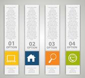 Infografía ilustración elementos de diseño vectorial — Vector de stock