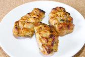 Sliced Grilled Chicken — 图库照片