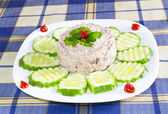 Tuna with Mayonnaise — Stock Photo