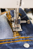 Naaimachine met naald — Stockfoto