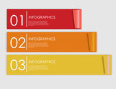 Infographic Templates for Business Vector Illustration. — Vetor de Stock