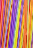 Cocktail Straws Background — Stock Photo