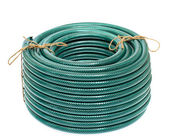 Garden Hose Isolated on White Background — Stock Photo