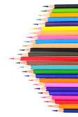 Multicolor pencils — Stock Photo