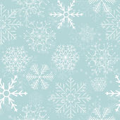Sfondo di fiocchi di neve senza soluzione di continuità. illustrazione vettoriale. — Vettoriale Stock