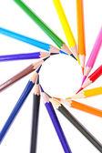 Multicolor ołówki — Zdjęcie stockowe