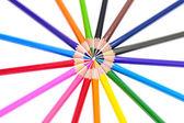 Multicolor pennor — Stockfoto