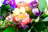 Colorful Flowers Bouquet Isolated on White Background — Stockfoto