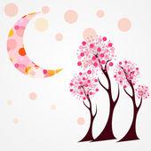 Autumn Tree Vector Illustration. — Stock Vector