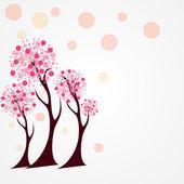 осеннее дерево векторные иллюстрации. — Cтоковый вектор
