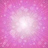 Purple Summer Background. Vector Illustration — Stock Vector