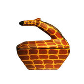 Giraffe Figurine box container — Stock Photo