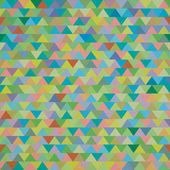 Seamless colorful zig zag triangle pattern — Stock Photo