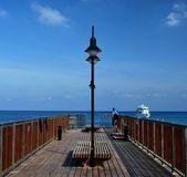 Waithing para el barco — Foto de Stock