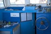 Instrumentpanelen båt — Stockfoto