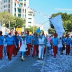 ������, ������: Street carnival smurfs