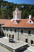Beffroi dans le monastère orthodoxe — Photo