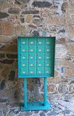 Venkovské poštovní schránky — Stock fotografie