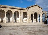 Greek monastery restoration — Stock Photo
