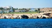 Mediterranean coastline — Stock Photo