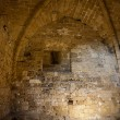 Corridors for artillery chambers in Othello Castle — Stock Photo