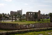 Panoramic view from ancient city Famagusta,North Cyprus — Stock Photo