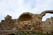 Ruins in ancient Salamis — Stock Photo