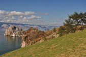 Shamank's rock, Baikal — Stock Photo