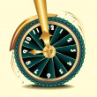 Wheel of time — Stock Photo