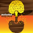 Autumn time of the year — Stock Vector