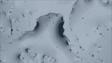 Frozen pattern appear Raw quality — Stock Video