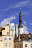 Eski kasaba kilise — Stok fotoğraf